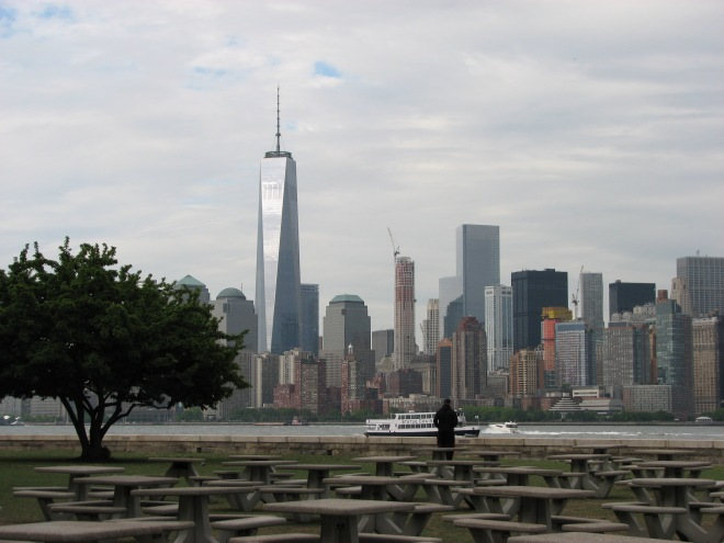 New York from Ellis Island, May 21, 2015