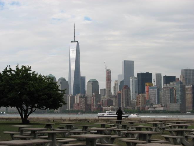 New York from Ellis Island, May 21, 2015